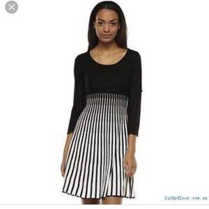 Dana Buchman Sweater Dress, 3/4 Sleeves,  S
